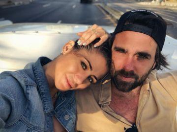 Elena Tablada y Javier Ungría durante su viaje a La Habana