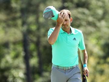 Sergio García, en la primera ronda del Masters de Augusta