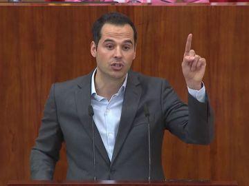 Espinar confirma el apoyo de Podemos a la moción de censura del PSOE contra Cifuentes