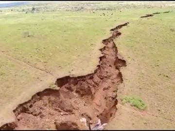 Una enorme grieta en Kenia podría separar el Cuerno de África del resto del continente