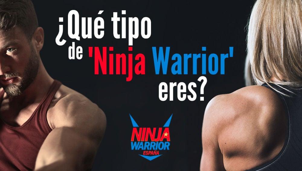 ¿Qué tipo de 'Ninja Warrior' eres?