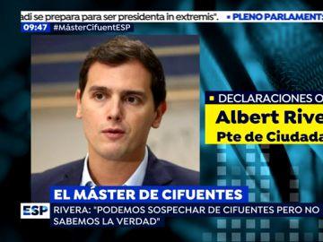Albert Rivera en Onda Cero