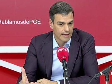 """Pedro Sánchez insiste en que los independentistas tienen que """"emanciparse"""" de Puigdemont y """"pasar la página negra"""" del 'procés'"""