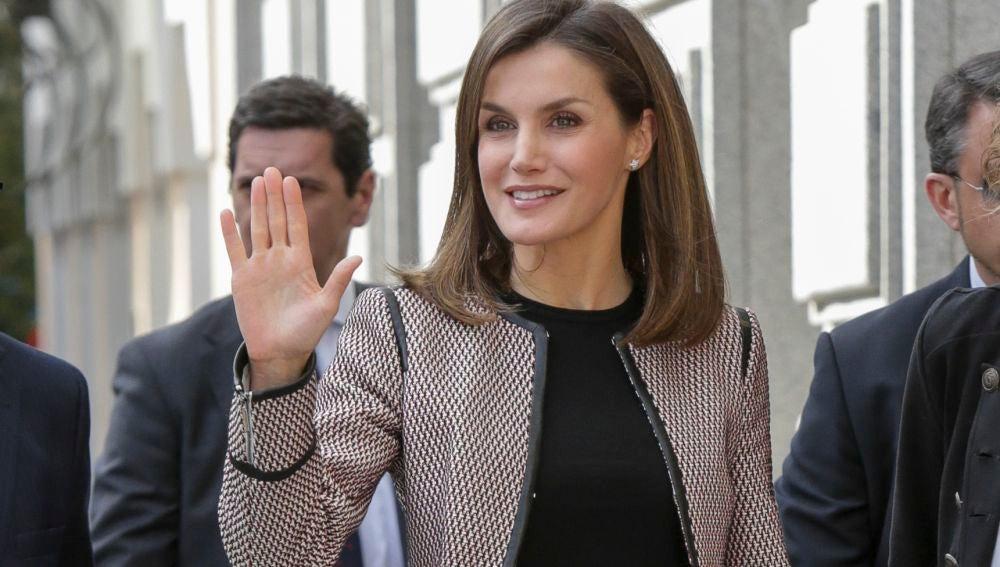 La reina Letizia reaparece tras la polémica
