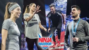 Los deportistas de élite que competirán en la segunda edición de 'Ninja Warrior' España