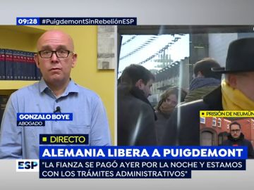 Gonzalo Boye, en Espejo Público