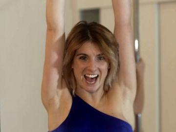 Miriam, la bailarina de pole dance que encuentra su inspiración en Ana Obregón