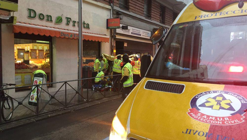 Un hombre muere tras recibir un disparo en la cabeza en pleno barrio madrileño de Chamberí