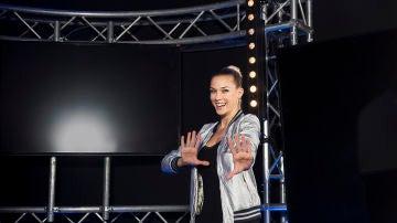 La presentadora Patricia Montero nos acercará a los concursantes a pie de pista en 'Ninja Warrior'