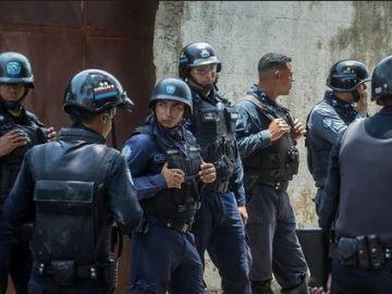 Varios agentes de la Policía de Venezuela