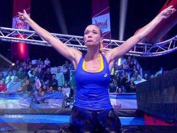 Patricia Montero se atreve con uno de los obstáculos más duros de 'Ninja Warrior' España