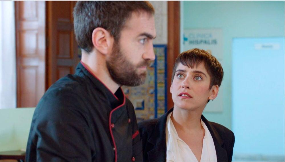 Carmen e Iñaki recurren a un abogado para mediar en su separación