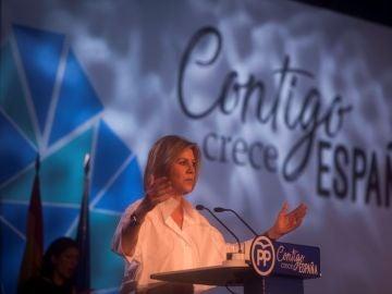 María Dolores de Cospedal, en la convención nacional del PP