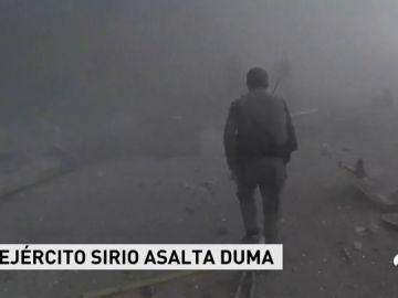 El Ejército sirio asalta Duma