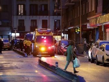 Vista de la calle Fernando el Católico, en el distrito de Chamberí, donde tuvo lugar el suceso