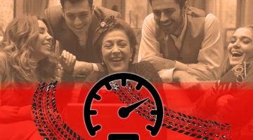 Las imágenes de los actores de 'Puente Viejo' disfrutando de un día de 'alta velocidad'