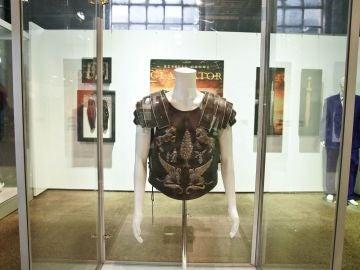 La armadura que Rusell Crowe usó en 'Gladiator'
