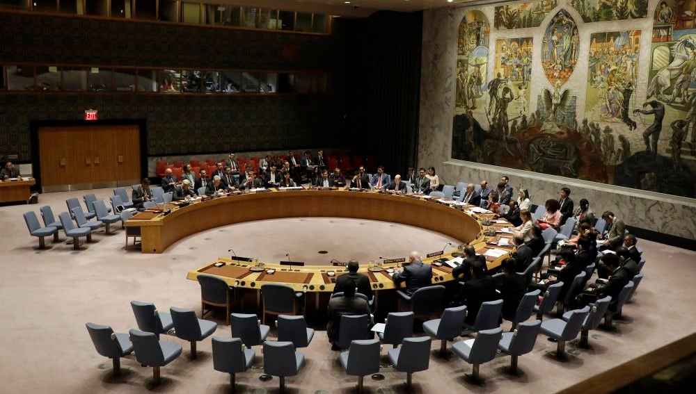 El Consejo de Seguridad de la ONU.