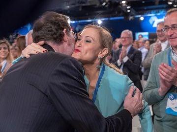 Cifuentes saluda a Rajoy