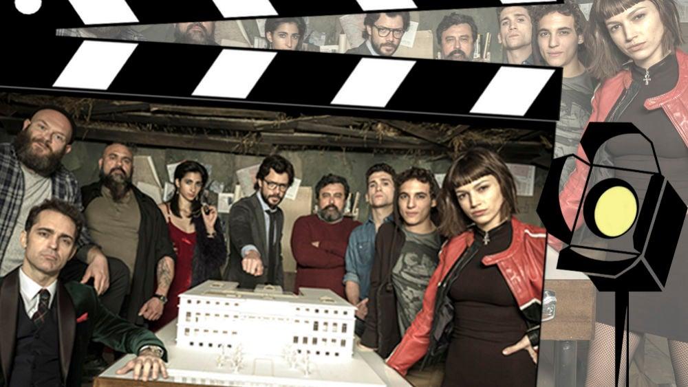 El emocionante vídeo con imágenes inéditas de los actores de 'La casa de papel' detrás de las cámaras
