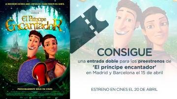 Concurso 'El príncipe encantador'