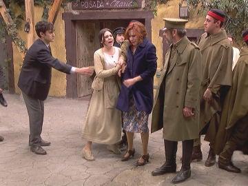 Fe, a punto de ser arrestada por los hombres de Pérez de Ayala