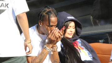 Kylie Jenner y Travis Scott