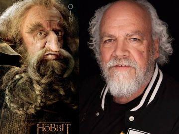 John Callen es Óin en la trilogía de 'El Hobbit'