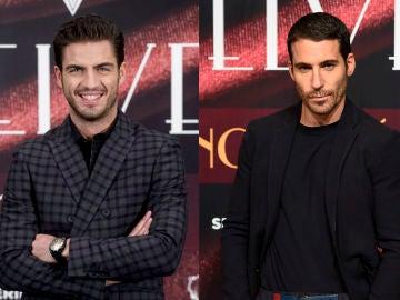 Maxi Iglesias y Miguel Ángel Silvestre en 'Velvet'