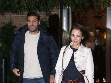 Miguel Torres y Paula Echevarría tras su velada del domingo