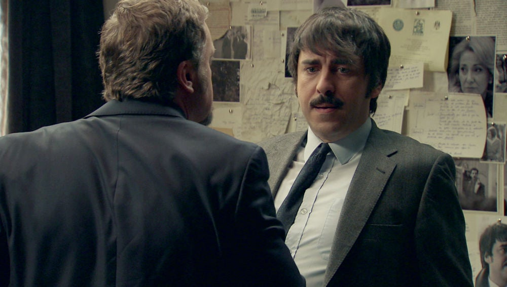 Samuel, retenido por Ortega en su habitación secreta