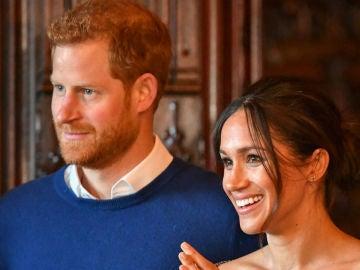 SAR el príncipe Harry y Meghan Markle