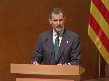 """El Rey respalda a los jueces como """"garantía efectiva el Estado de derecho"""""""