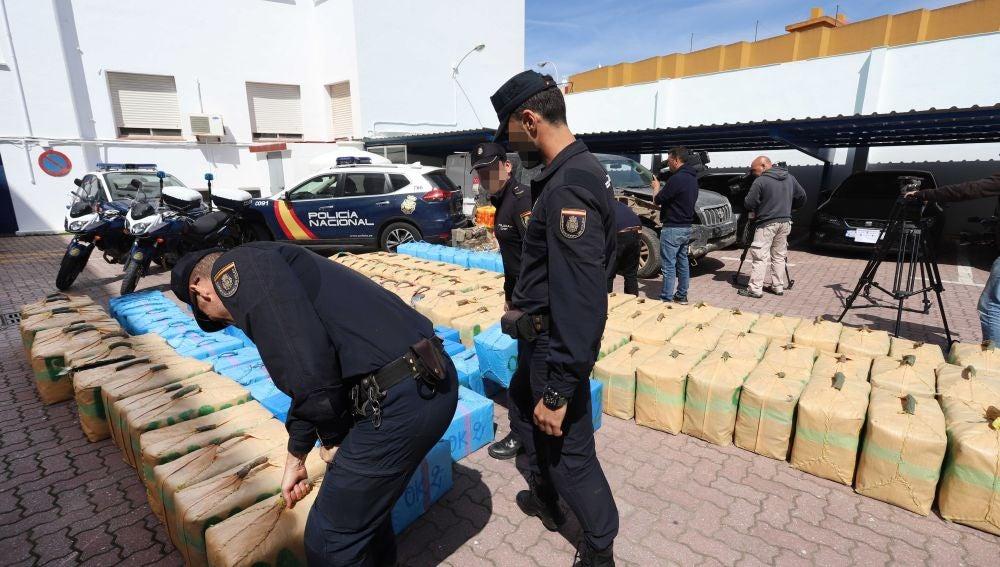 Incautan ocho toneladas de Hachís en Almeria