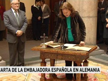 """La embajadora española en Berlín dice que el independentismo no quiere diálogo y que los más radicales buscan """"violencia"""""""