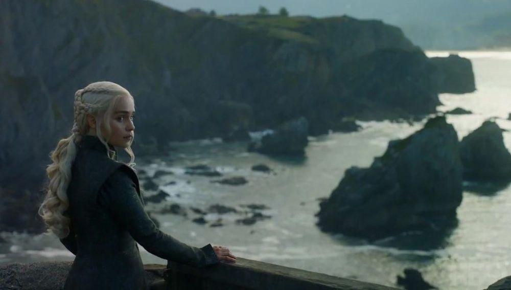 Daenerys Targaryen en Rocadragón 'Juego de Tronos'