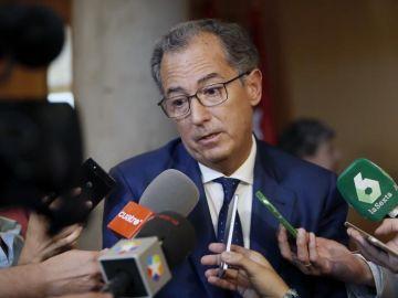 El portavoz del PP en Parlamento madrileño, Enrique Ossorio