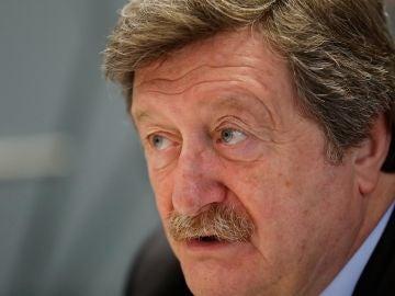 Juan Luis Larrea, candidato a la presidencia de la Federación Española de Fútbol