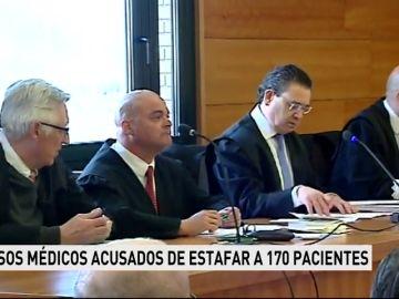 Comienza el juicio a falsos médicos acusados de estafar a 170 pacientes