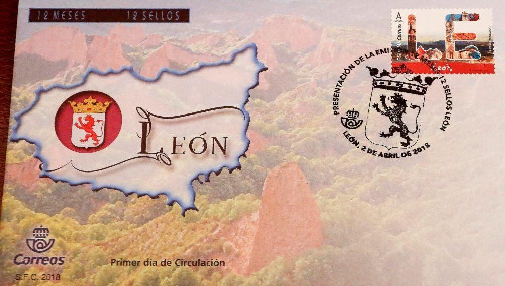 Correos ilustra por error un sello dedicado a León con la catedral de Burgos