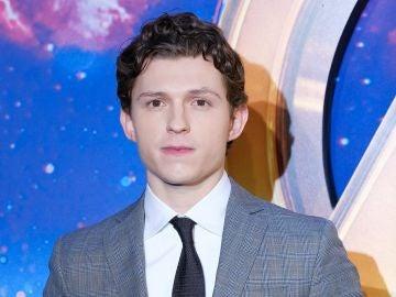 Tom Holland en la premiere de 'Vengadores: Infinity War'