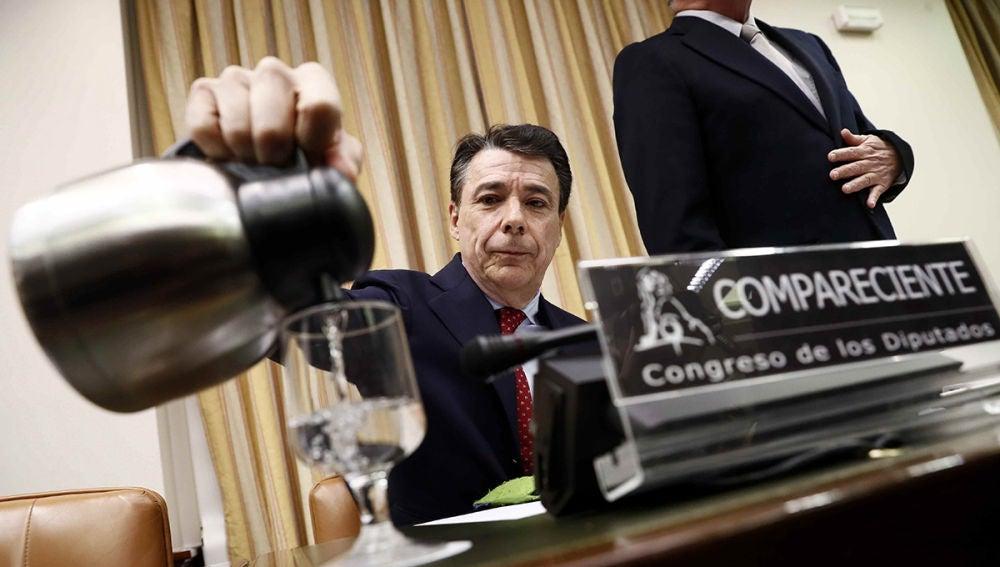Ignacio González en la comisión de investigación de la financiación del PP