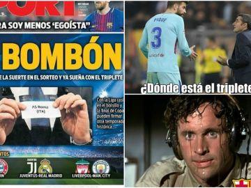 Los 'memes' del Roma - Barcelona