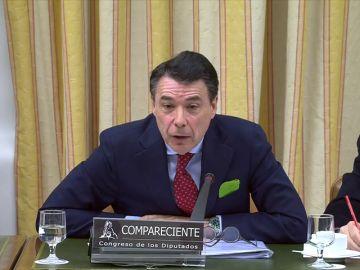 Comparecencia de Ignacio González por la financiación irregular del PP