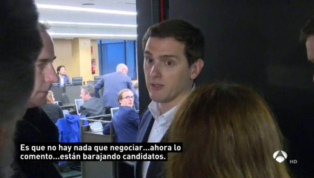 Rivera exige a Rajoy que releve a Cifuentes si el PP quiere acabar la legislatura en la Comunidad de Madrid