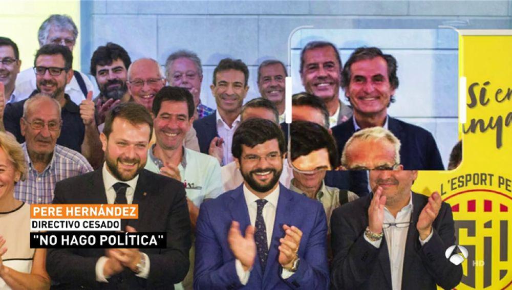 Cisma en el padel español por el apoyo del presidente de la Federación Catalana al independentismo catalán