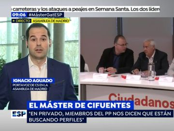 Ignacio Aguado en Espejo Público