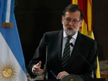 El presiente del Gobierno, Mariano Rajoy