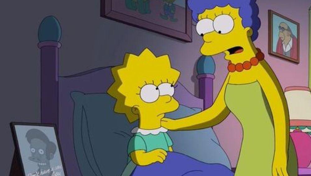 Lisa y Marge en el capítulo de 'Los Simpson'