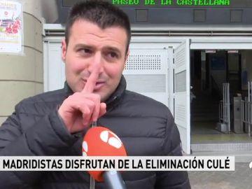 """El madridismo, contento tras la eliminación del Barça: """"Llevan haciendo el ridículo varios años en la Champions"""""""